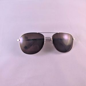 Bally UV Protected Oval Sunglasses BY4038 Gunmetal